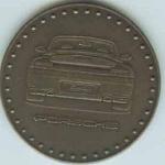 Original Porsche Calendar Coin 2004