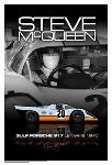 Steve Mcqueen With His Gulf Porsche 917