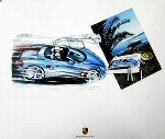 Design Study Porsche Boxster S - Poster