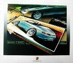 Design Studie Porsche 911 Carrera Cabriolet - Poster