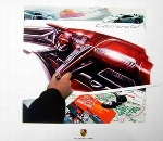 Design Stuye Porsche Carrera Gt Show Car - Poster