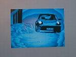 Porsche 911 Poster, 1985