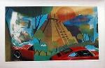 Porsche 911 Poster Salvador Barajas, 1981