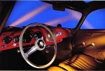 Porsche 356 Coupé Cockpit Photo