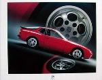 Porsche 944 Turbo Poster, 1986