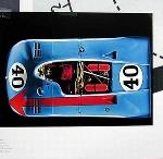 Porsche 900/3 1970. Poster 2000