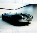 Porsche 550 Spyder Targa Florio 1956. Poster 2000