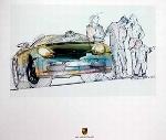 Porsche 911 Cabriolet, Poster 2001