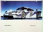 Porsche 911 Gt 1 Advertisment1996 - Porsche Original Race Poster