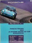 Porsche Original Rennplakat - 24 Stunden Rennen Nürburgring - Gut Erhalten