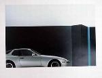 Porsche 944 Poster, 1983