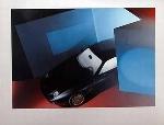 Porsche 928 S Poster, 1983
