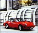 Porsche 911 Carrera Targa Poster, 1989