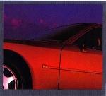Porsche 944 S2 Coupé Poster, 1990