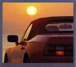 Porsche 944 S2 Cabriolet Poster, 1990