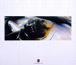 Porsche 928 Turbo Poster, 1991