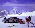 Porsche 911 Carrera 4 Cabriolet Poster, 1995