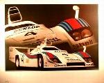 Porsche 936 Spyder 1977 Poster, 1985