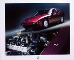 Porsche 924 Poster, 1986