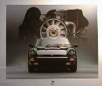 Porsche 911 Poster, 1986