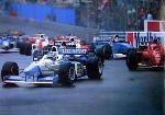 Start Monaco Gerhard Berger 1996