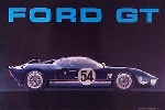 Us Import Ford Gt/40 Blue