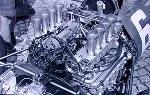 Nino Vaccarella V8-motor Ferrari 158