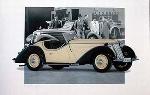Wanderer W 25 K Roadster 1937 Poster