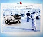 50 Jahre Porsche Poster 1998, Willi Papa Enz 1962 Gp Von Fankreich