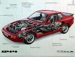 Porsche 944 Cutaway