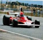 Niki Lauda, Ferrari 312t. Formula 1. 70 Years Agip Poster, 1996