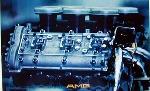 Amg Mercedes Motor - Amg Original Poster, 1996