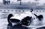 Grand Prix Argentinen 1955 Juan Manuel Fangio - Poster
