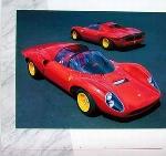 Ferrari 206 Sp Poster