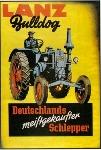 Lanz Bulldog 1950, Schlepper Poster