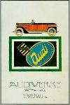 Audi Advertisement 1921 Automobile Car
