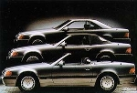 Mercedes R 129 3 Types