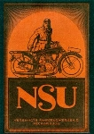Nsu About 1920 Motorcycle