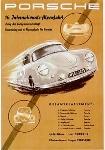 Alpenfahrt Porsche 356 1953 - Porsche Reprint - Kleinposter
