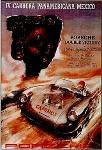 Porsche Carrera Panamericana Mexico 1953 - Porsche Reprint - Small Poster