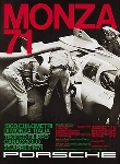 Monza 1971 - Porsche Reprint - Small Poster