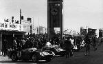 1000km Am Nürburgring 1959. Brookes Und Behra Im Ferrari 250 Testa Rossa.