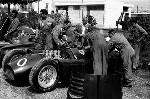 Luigi Villoresi Im Lancia D50, Grand Prix Italien 1955, Monza