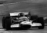 Grand Prix Spanien 1970. Graham Hill Im Lotus 49 Ford,