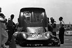 J. Guichet/m. Parkes Im Ferrari 330p2 24h Le Mans 1965