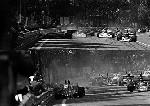Lauda Im Ferrari 312t, Regazzoni Im Ferrari 312t Und Andretti Im Parnelli Vpj4 Ford Spanish Grand Pr