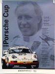 Porsche Original Racing Poster 1994 - Porsche Cup - Mint