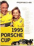 Porsche Original Rennplakat 1995 - Porsche Cup - Gut Erhalten