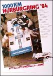 1000 Km Nürburgring 1984 - Porsche Reprint