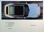 Porsche Original Werbeplakat 1996 - Porsche 993 Targa - Gut Erhalten